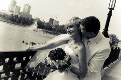 Черно-белая свадьба